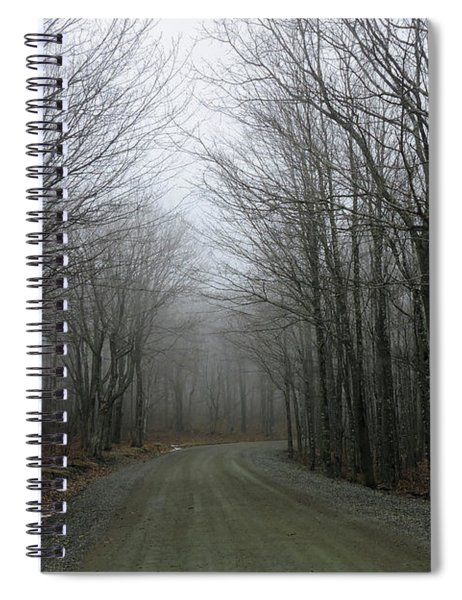 Ride In The Forest Spiral Notebook