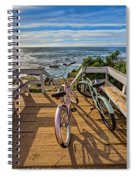 Ride With Me To The Beach Spiral Notebook