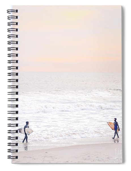 Riders Of The Sea Spiral Notebook