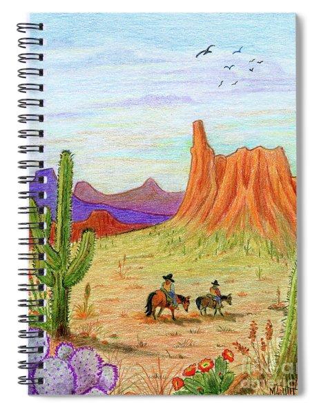 Ridin' The Range Spiral Notebook