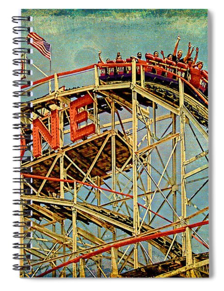Riding The Cyclone Spiral Notebook