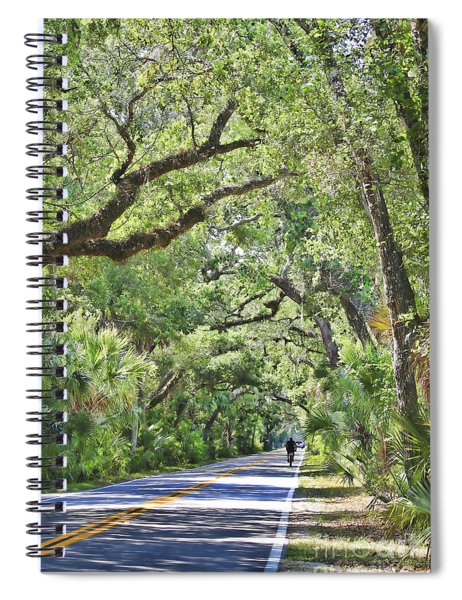 Riding The Ormond Loop Spiral Notebook
