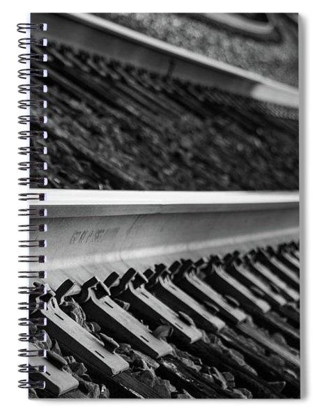 Riding The Rail Spiral Notebook