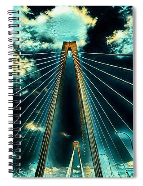 Riding The Ravenel Spiral Notebook