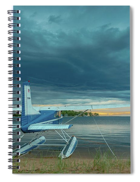 Riding The Storm Out Spiral Notebook