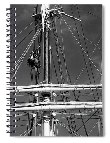 Rigging Aloft Spiral Notebook