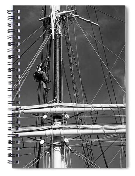 Rigging Aloft Spiral Notebook