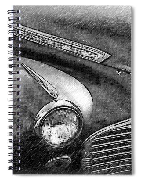 Right Front Fender Spiral Notebook