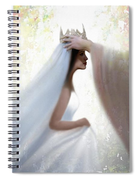 Righteous Crown Spiral Notebook