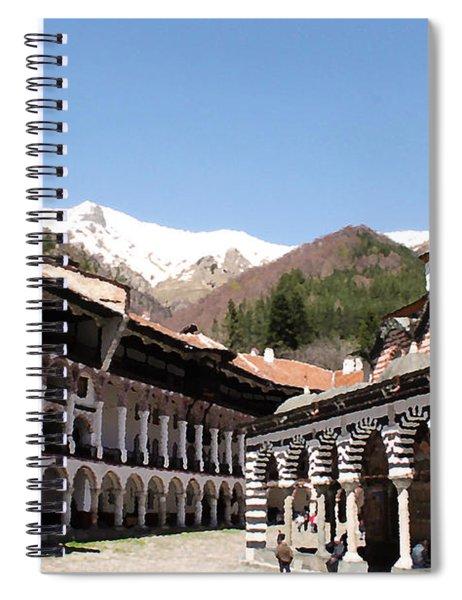 Rila Monastery Spiral Notebook
