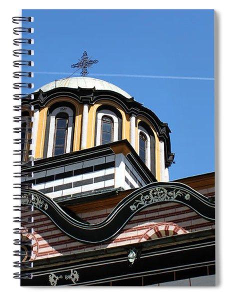 Rila Monastery Photograph Spiral Notebook