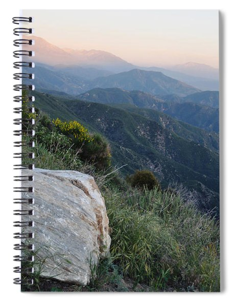 Rim O' The World National Scenic Byway Spiral Notebook