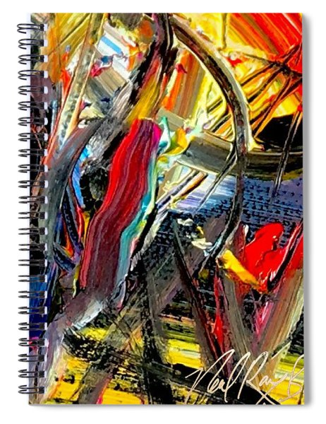 Rinestone Highway Spiral Notebook