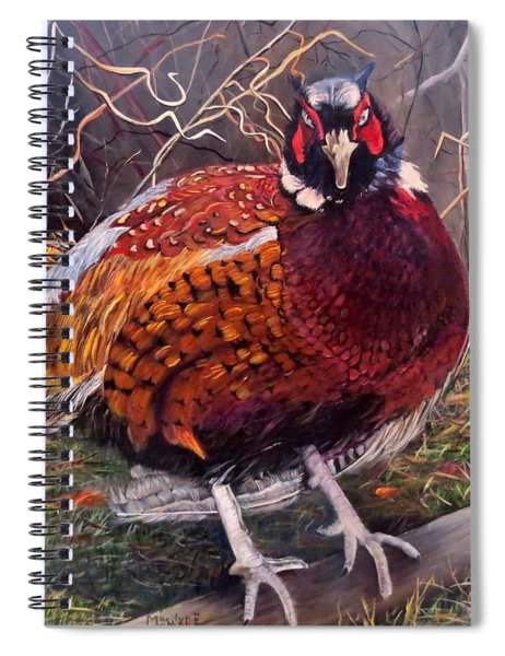 Ring Neck Pheasant Spiral Notebook
