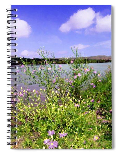 Rio Grande De Las Cruces Spiral Notebook