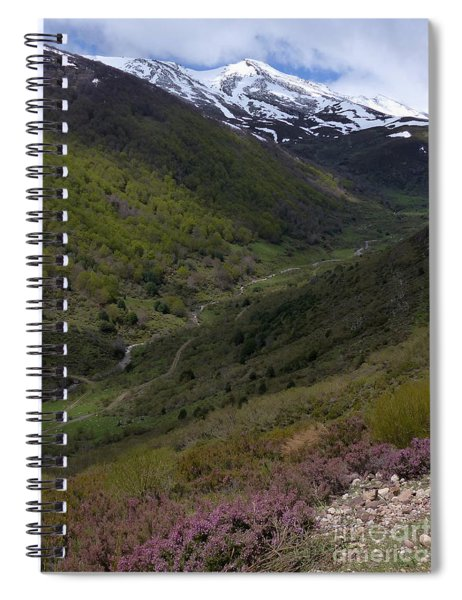 Rio Hijar Valley - Cantabria Spiral Notebook