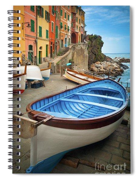 Rio Maggiore Boat Spiral Notebook