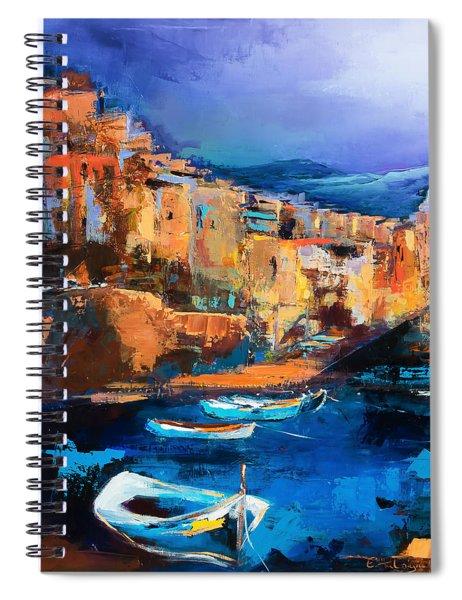 Riomaggiore - Cinque Terre Spiral Notebook