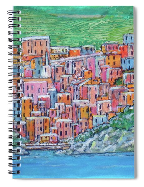 Riomagiorre My Favorite Village In Italy Spiral Notebook