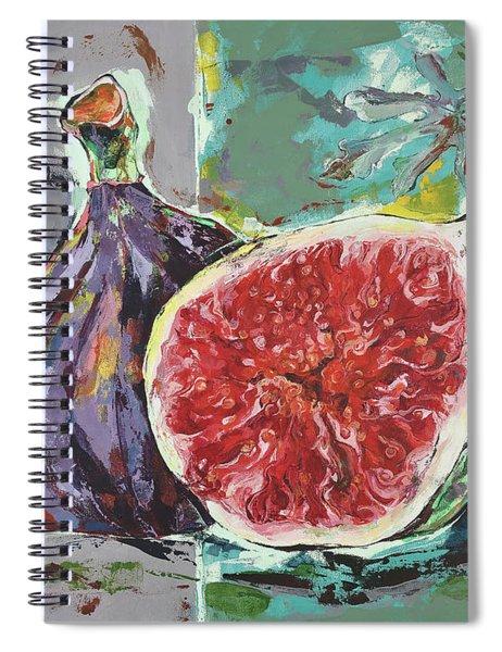 Ripe Figs Spiral Notebook