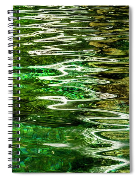 Ripple Paintings Spiral Notebook