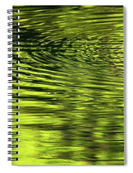 Ripples Spiral Notebook