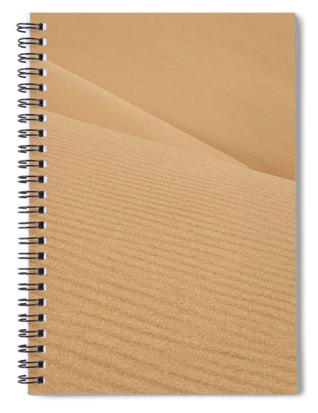 Natures Curves Spiral Notebook