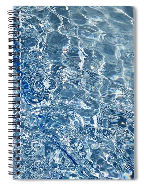 Ripples Of Summer Spiral Notebook