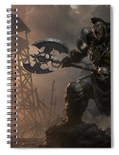 Rise Of The Overlords Spiral Notebook