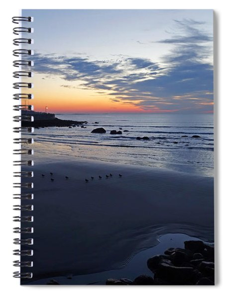 Rise Of The Phoenix Over King's Beach Lynn Ma Spiral Notebook
