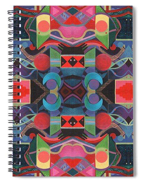 Rising Above And Synergy 4 Spiral Notebook