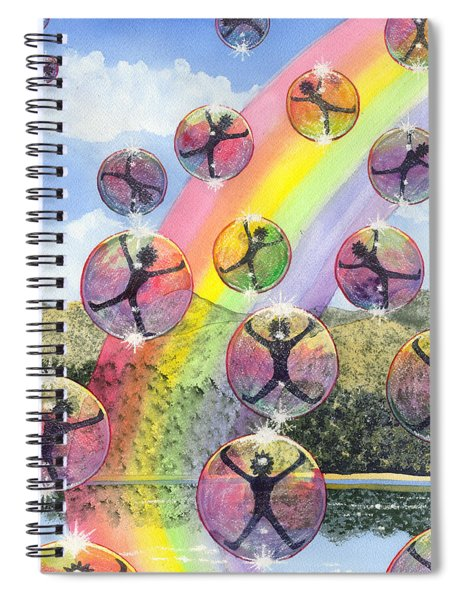 Rising Above It All Spiral Notebook