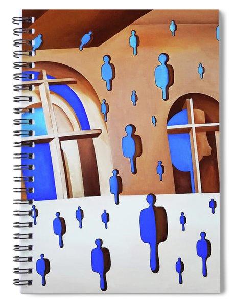 Rising Air Spiral Notebook