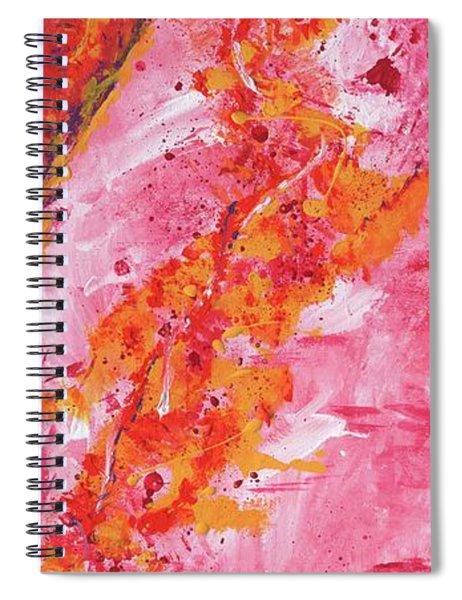 Rising Fires Spiral Notebook