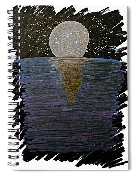 Rising Moon Spiral Notebook