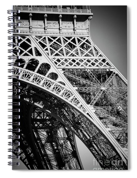 Rising Steel Spiral Notebook