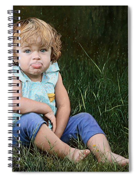 Ritratto Di Bimba Spiral Notebook