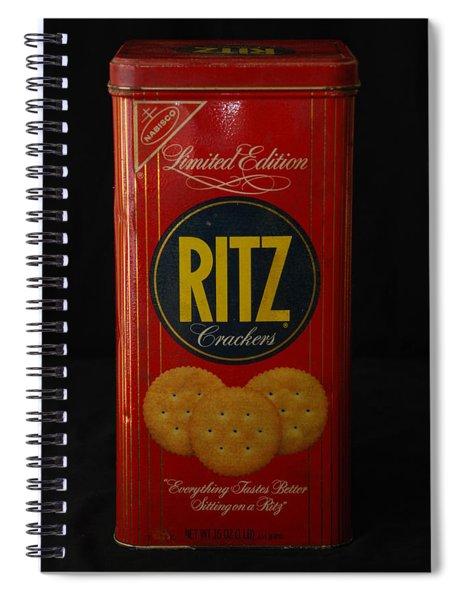 Ritz Crackers Spiral Notebook