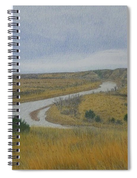River At Wind Canyon Spiral Notebook