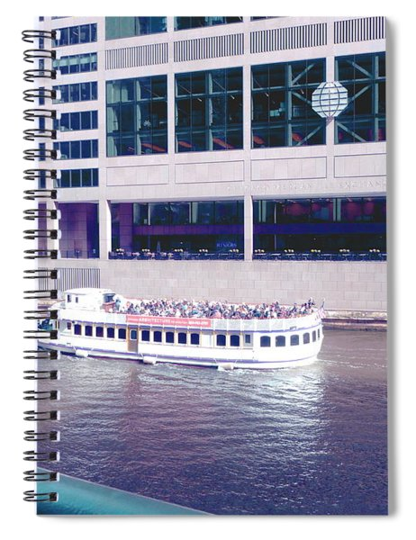 River Boat Tour Spiral Notebook