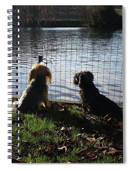 River Gazing Spiral Notebook