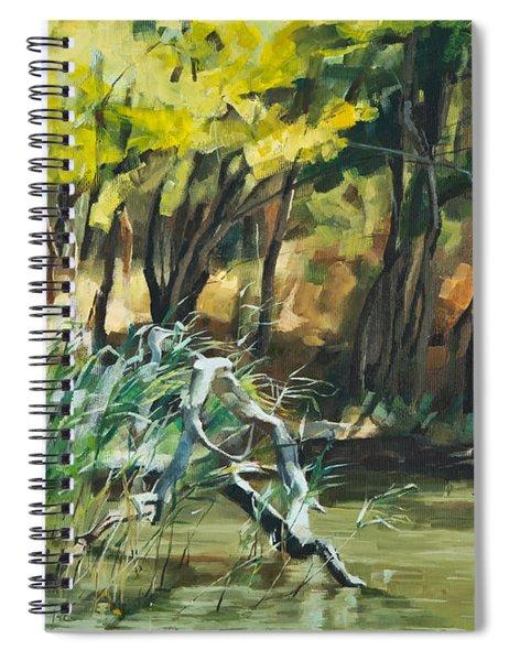 River In Summer Spiral Notebook