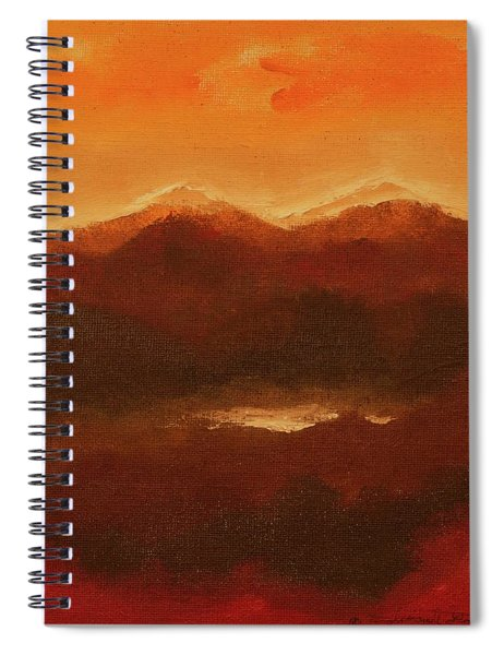 River Mountain View Spiral Notebook