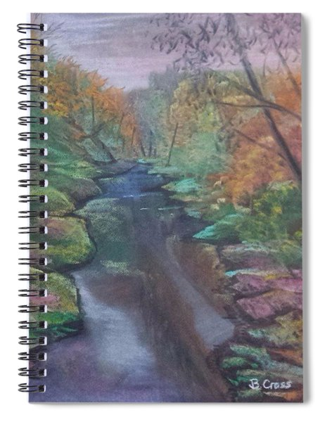 River In The Fall Spiral Notebook