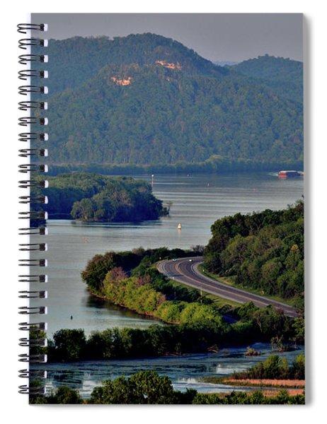 River Navigation Spiral Notebook