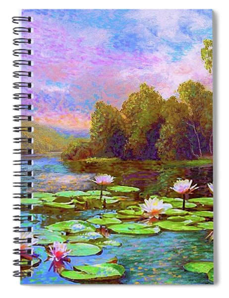 The Wonder Of Water Lilies Spiral Notebook