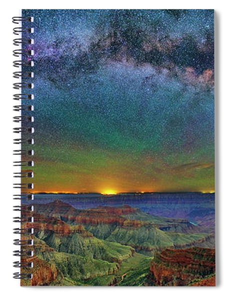 River Of Stars Spiral Notebook