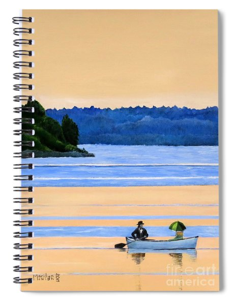 River Romance Spiral Notebook