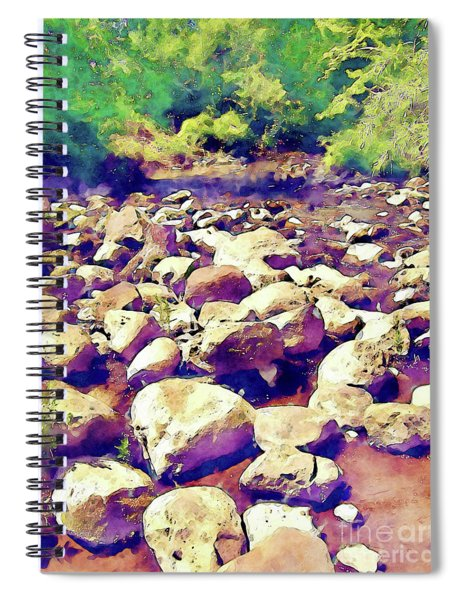 River Stones Spiral Notebook
