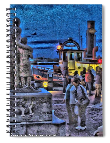 River Street Blues Spiral Notebook